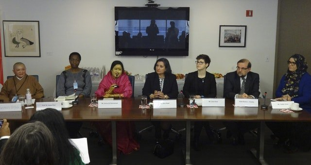 Bahai Uluslararası Toplumu, Birleşmiş Milletler Kadının Statüsü Komisyonu'na genişletilmiş bir bakış açısı sunuyor - 02