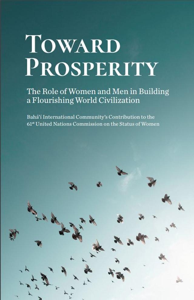 Bahai Uluslararası Toplumu, yeni bildirgesinde cinsiyet eşitliğinin gelişim için zorunlu olduğunu ifade ediyor
