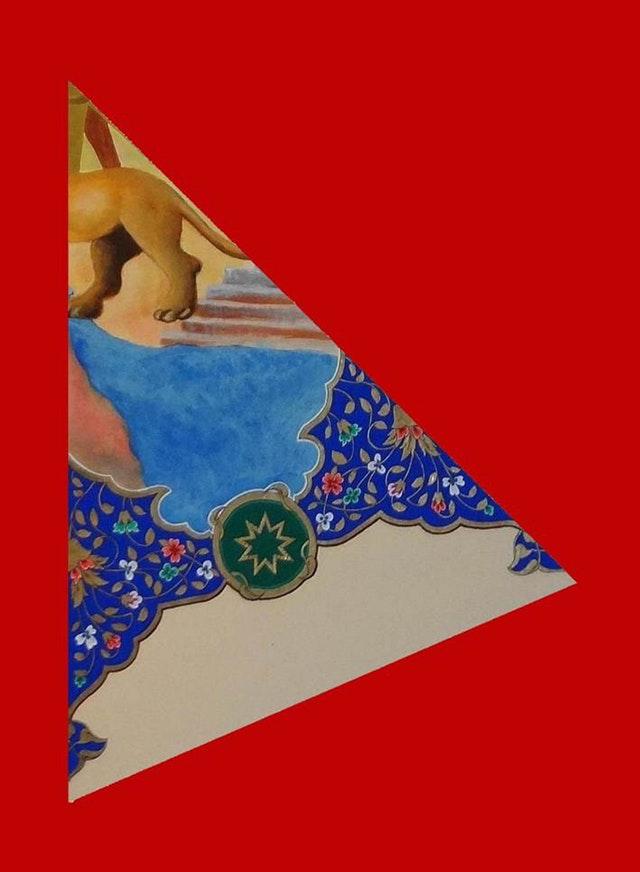 Cesur din adamı tabloyu parçalara bölüyor, birliği destekleyip teşvik ediyor - 02