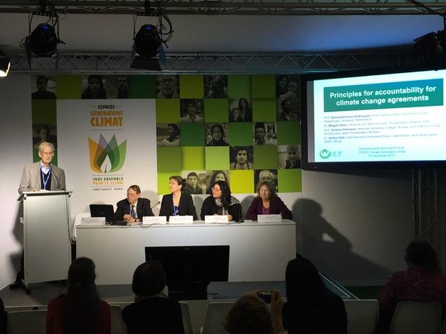 COP21'de Bahailer birliğe doğru hareket görüyor - 04