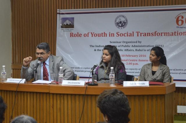 Delhi Semineri, gençlerin toplumsal dönüşümdeki rolünü inceliyor - 01