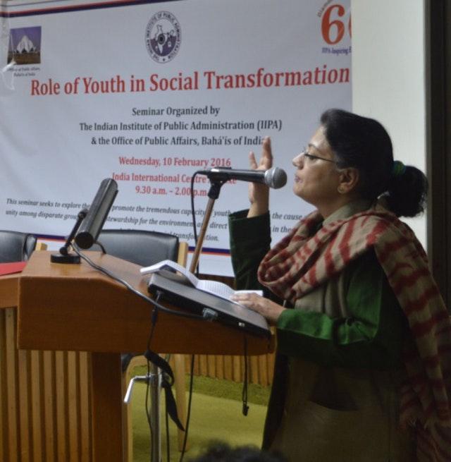 Delhi Semineri, gençlerin toplumsal dönüşümdeki rolünü inceliyor - 02