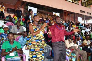 Gençlik konferansı Orta Afrika Cumhuriyeti'nde umudu ve hareketi canlandırdı - 02