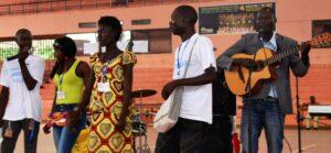 Gençlik konferansı Orta Afrika Cumhuriyeti'nde umudu ve hareketi canlandırdı - 07