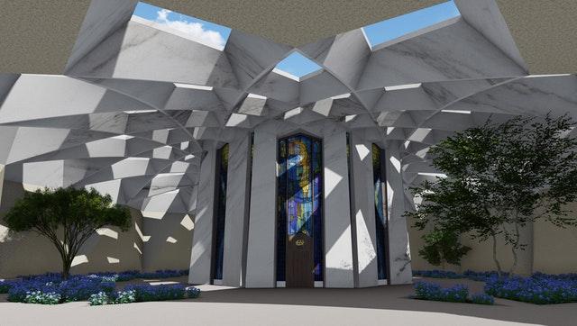 Hz. Abdülbaha'nın Makamı için hazırlanan tasarımın tanıtımı yapıldı - 02