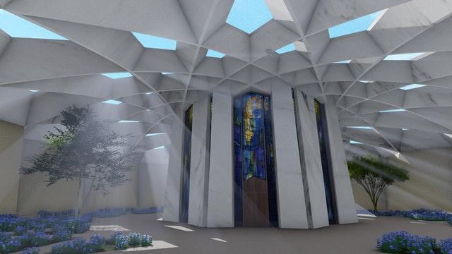 Hz. Abdülbaha'nın Makamı için hazırlanan tasarımın tanıtımı yapıldı - 03