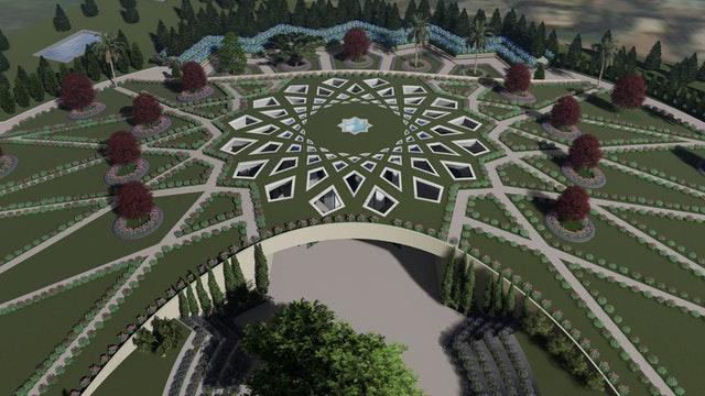 Hz. Abdülbaha'nın Makamı için hazırlanan tasarımın tanıtımı yapıldı - 04