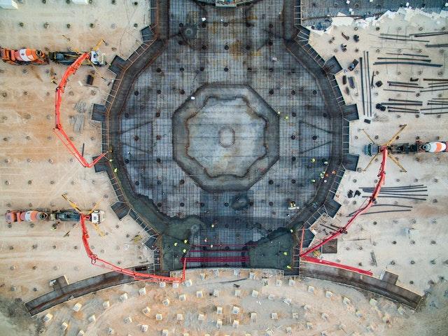 Hz. Abdülbaha'nın Makamı: Temel Atma İşlemleri Tamamlandı - 08