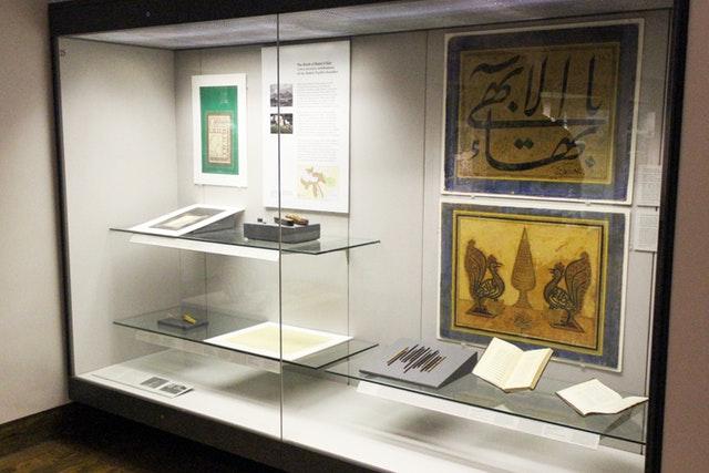 Hz. Bahaullah'ın Yazıları Sergisi British Museum'da açıldı - 06