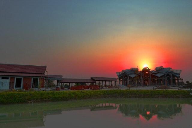 Kamboçya Mabedi'nin inşası ilerleme kaydediyor - 01