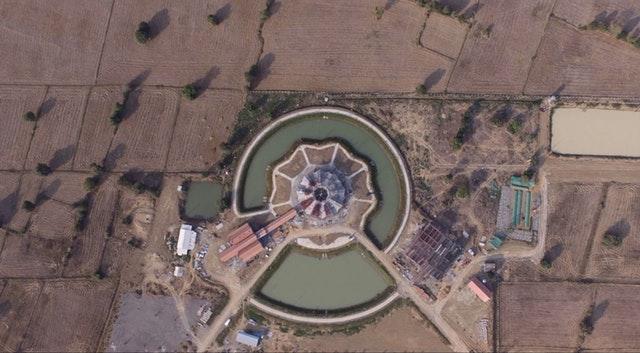 Kamboçya Mabedi'nin inşası ilerleme kaydediyor - 02