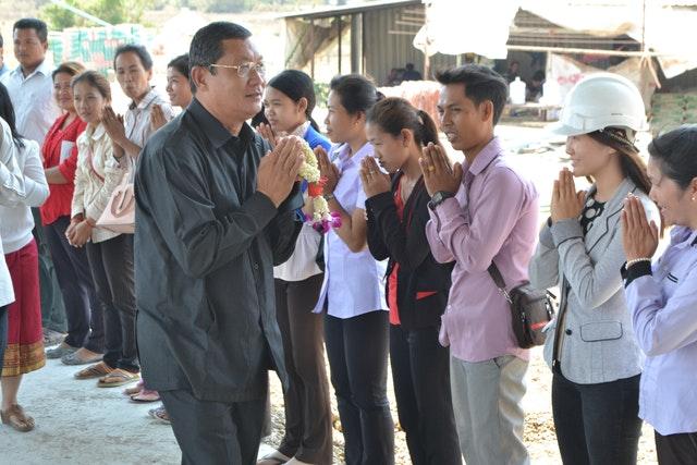 Kamboçya Mabedi'nin inşası ilerleme kaydediyor - 03