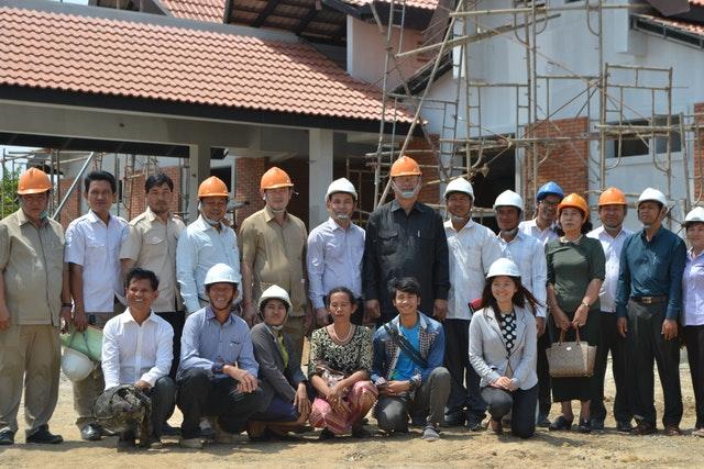 Kamboçya Mabedi'nin inşası ilerleme kaydediyor - 05