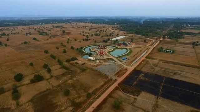 Kamboçya Mabedi'nin inşası ilerleme kaydediyor - 06