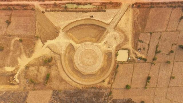Kamboçya Mabedi'nin toprak çalışmaları tamamlandı - 01