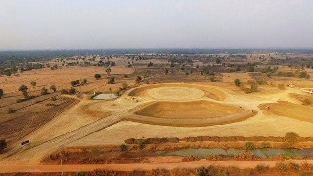 Kamboçya Mabedi'nin toprak çalışmaları tamamlandı - 04
