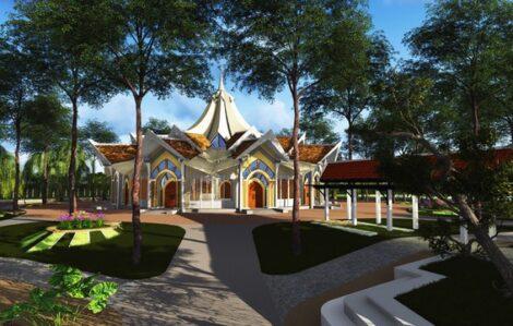 Kamboçya Mabet tasarımı için gün doğuyor - 01