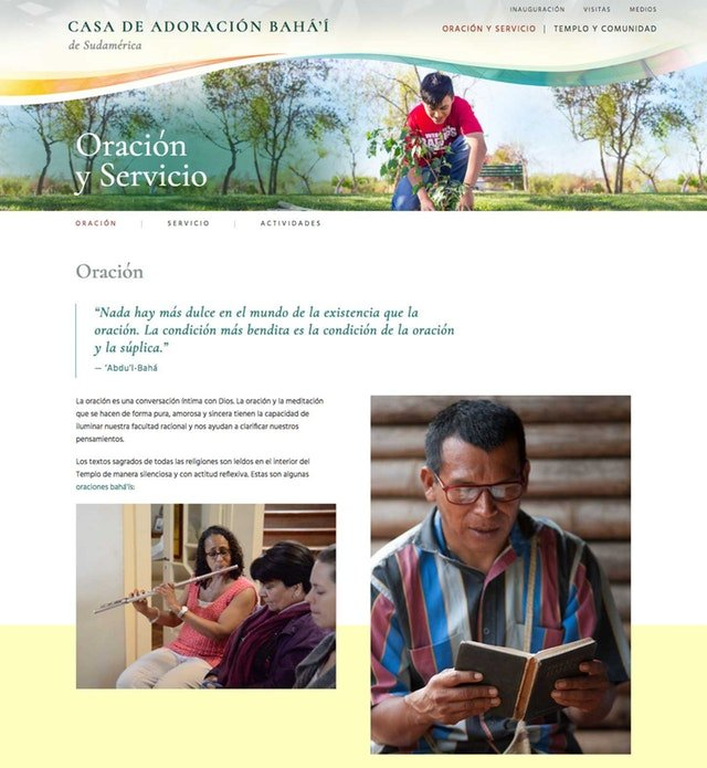 Şili Mabedi için yeni web sitesi yayına açıldı - 03