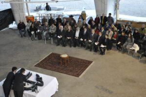 Şili Mabedi'nin en tepe noktasına kutsal sembol yerleştirildi - 02