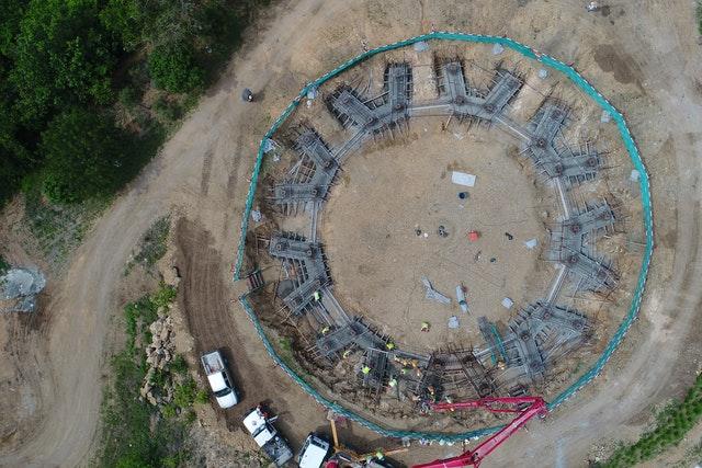 Tarihteki ilk milli Bahai Mabedinin inşaatı ilerliyor - 01