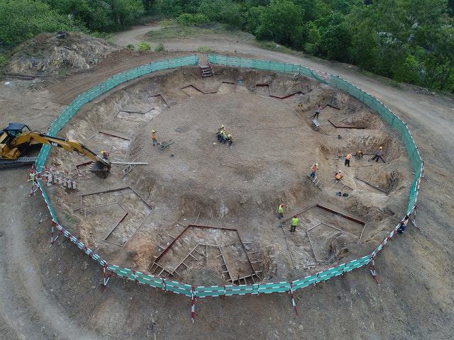 Tarihteki ilk milli Bahai Mabedinin inşaatı ilerliyor - 06