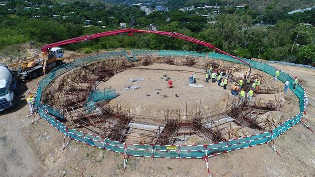 Tarihteki ilk milli Bahai Mabedinin inşaatı ilerliyor - 07