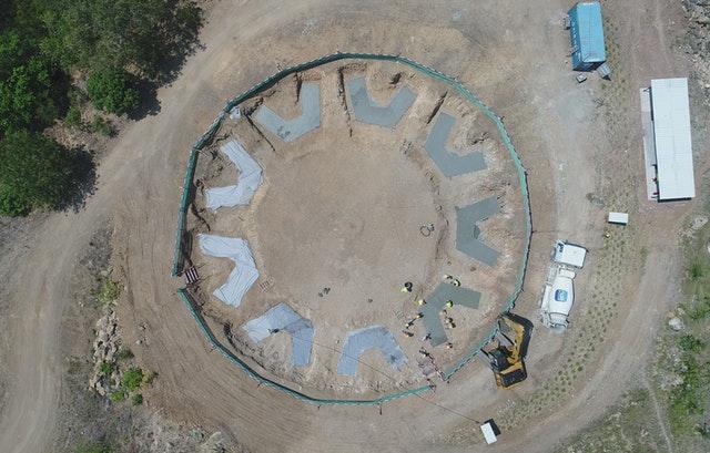 Tarihteki ilk milli Bahai Mabedinin inşaatı ilerliyor - 08