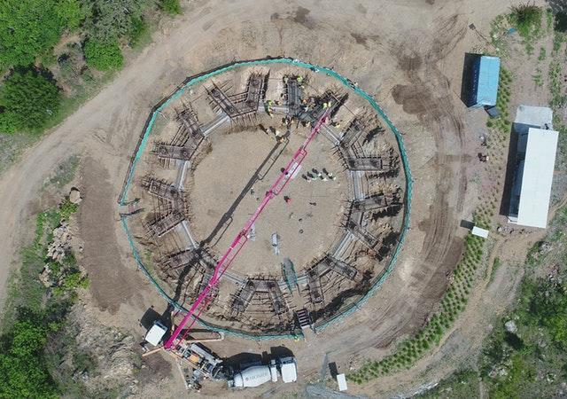Tarihteki ilk milli Bahai Mabedinin inşaatı ilerliyor - 09