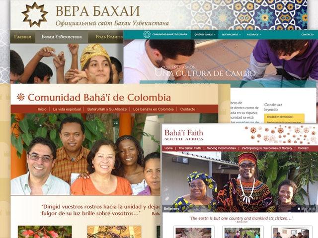 Yeni websiteleri dünya çaplı Bahai toplumunun genişliğini yansıtıyor - 01