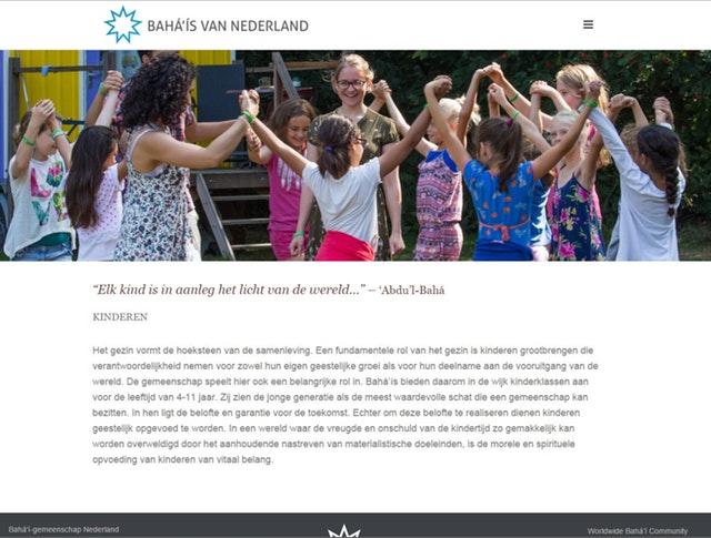 Yeni websiteleri dünya çaplı Bahai toplumunun genişliğini yansıtıyor - 05