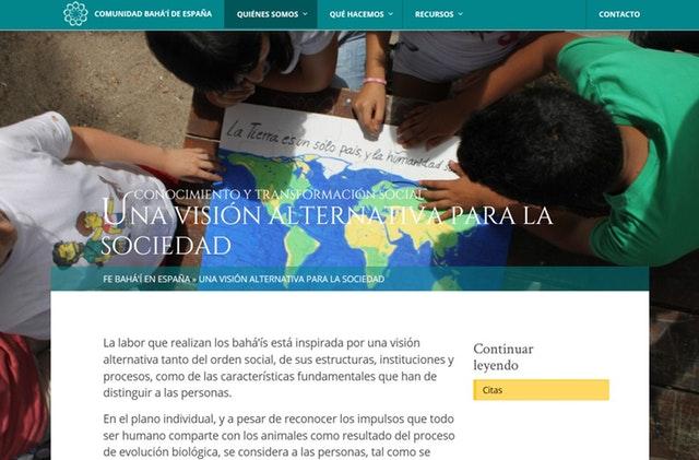 Yeni websiteleri dünya çaplı Bahai toplumunun genişliğini yansıtıyor - 06