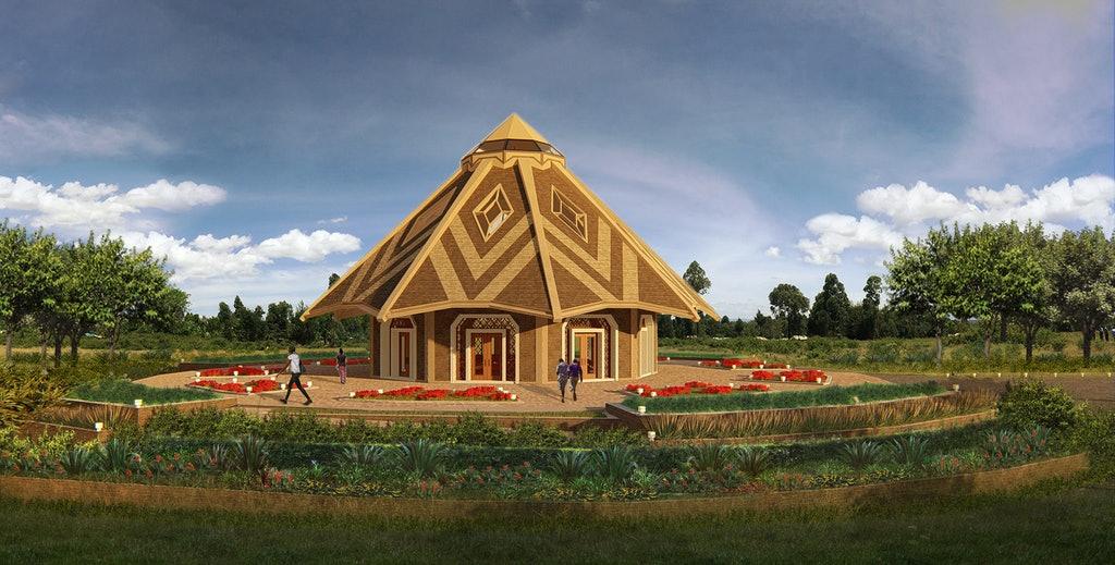 Yerel mabet tasarımı Kenya'da gözler önüne serildi - 01