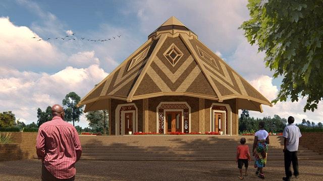 Yerel mabet tasarımı Kenya'da gözler önüne serildi - 02