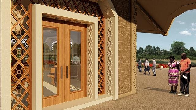 Yerel mabet tasarımı Kenya'da gözler önüne serildi - 03