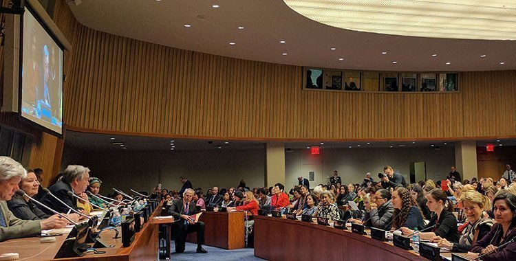 Birleşmiş Milletlerde Bahailer - 01