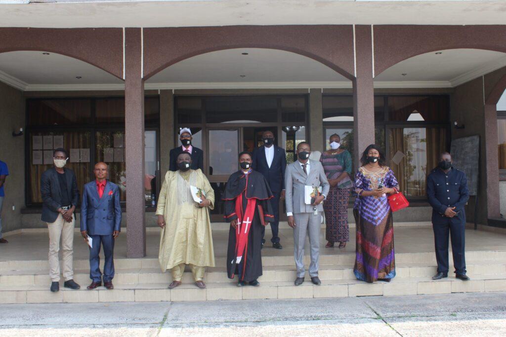 Demokratik Kongo Cumhuriyeti'nde inşa edilecek Mabet'in temel atma töreni kutlamaları - 02