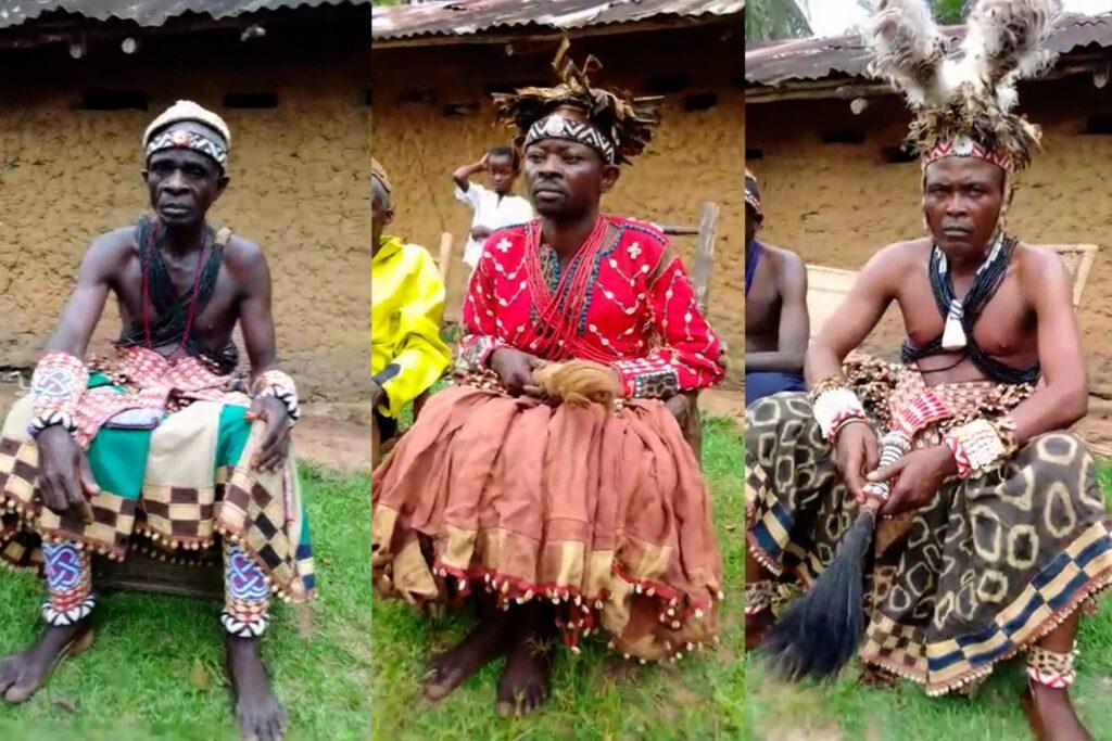 Demokratik Kongo Cumhuriyeti'nde inşa edilecek Mabet'in temel atma töreni kutlamaları - 03