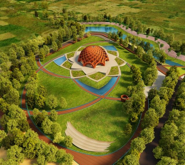 Hindistan'da Bir Yerel Mabedin Tasarımının Tanıtımı Yapıldı - 01