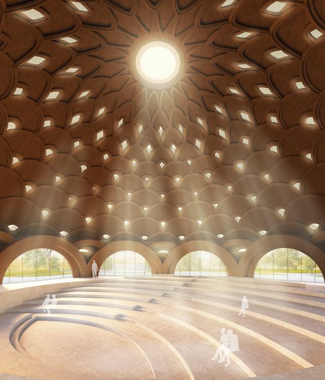 Hindistan'da Bir Yerel Mabedin Tasarımının Tanıtımı Yapıldı - 02
