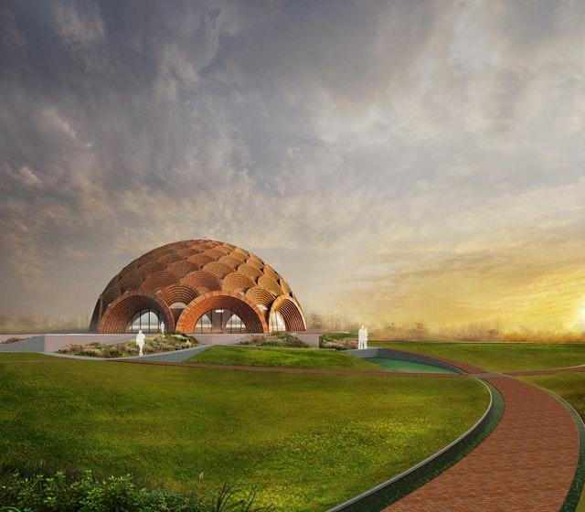 Hindistan'da Bir Yerel Mabedin Tasarımının Tanıtımı Yapıldı - 04