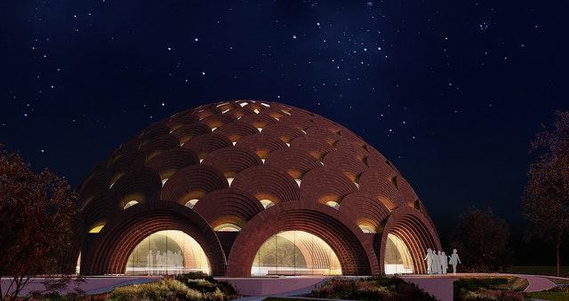 Hindistan'da Bir Yerel Mabedin Tasarımının Tanıtımı Yapıldı - 06