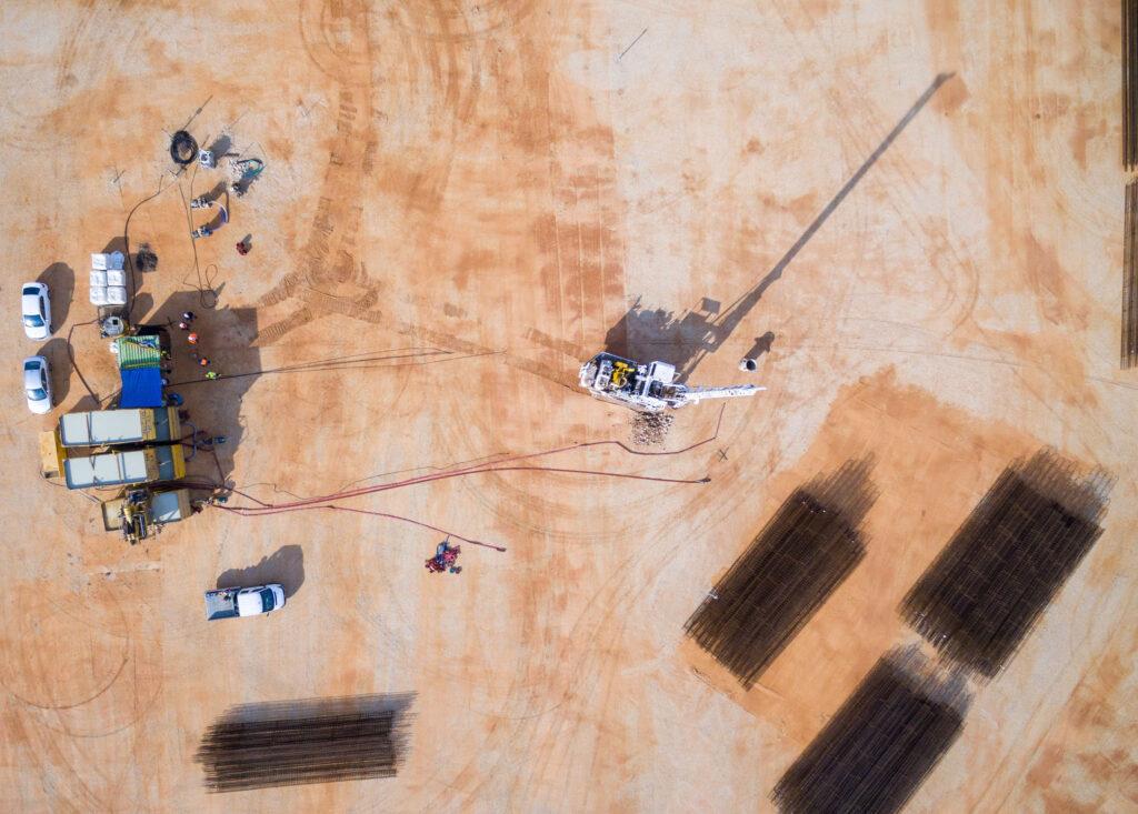 Hz. Abdülbaha'nın Makamı için altyapı ve zemin hazırlığı sürüyor. Bu çok kapsamlı ve yoğun girişim başladı - 07