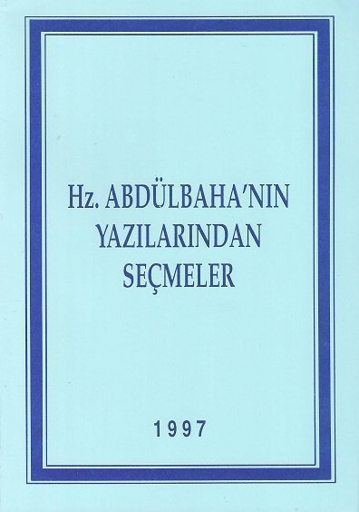 Kütüphane - Abdulbahanın Yazılarından Seçmeler