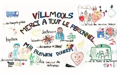 Lüksemburg'daki Çocuklar Sağlık Çalışanlarına Sevgilerini Göndererek Onlara Moral Verdi - 01