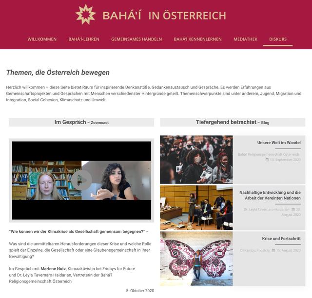 Avusturya'da Düşünce Fırtınası Yeni Video Blog Acil Çözüm Gerektiren Konulara Işık Tutmakta 02