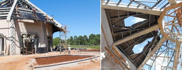 Demokratik Kongo Cumhuriyeti ve Kenya'da Mabet inşaatları devam ediyor 07