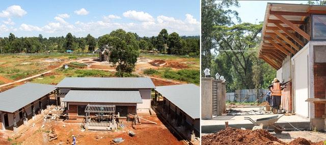 Demokratik Kongo Cumhuriyeti ve Kenya'da Mabet inşaatları devam ediyor 11
