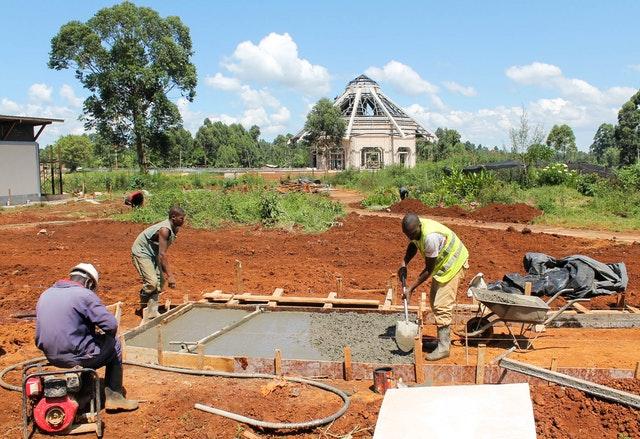 Demokratik Kongo Cumhuriyeti ve Kenya'da Mabet inşaatları devam ediyor 12