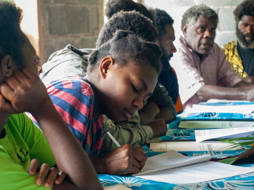 Vanuatu'da Ahlaki Eğitimin Önemine Dair Ortak Bir Vizyon Geliştirme